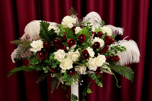 wedding bouquet Andre room ERO